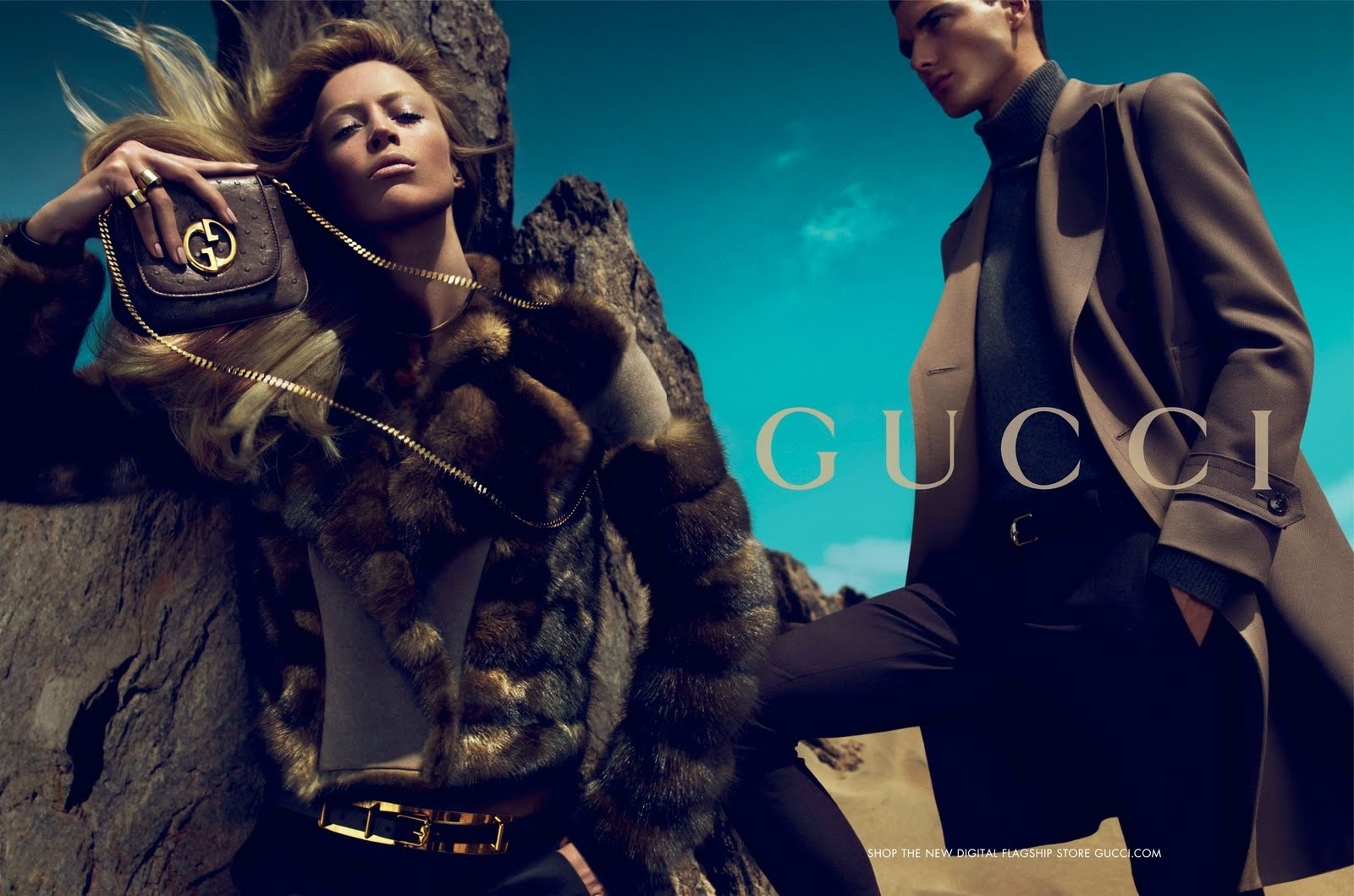 Fashion style Fall gucci ad campaign for girls