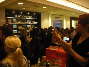 Line to Meet Kim Kardashian at Macy's