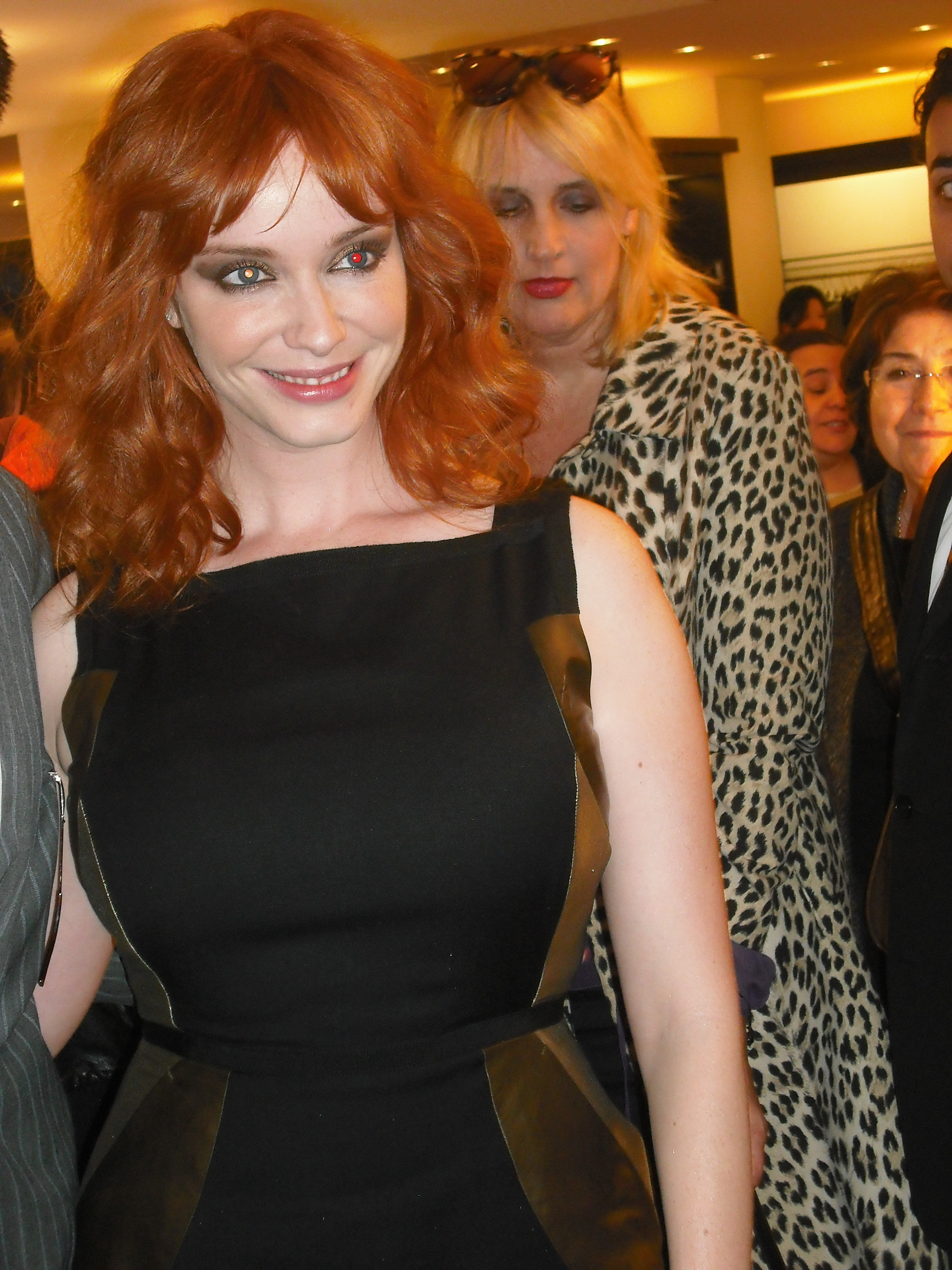 Christina Hendricks at Ports1961