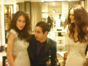 Zac Posen with Models