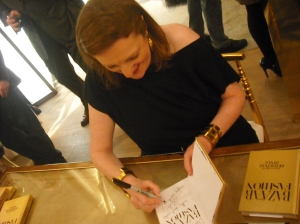 Glenda Bailey of Harper's Bazaar Signing the New Book