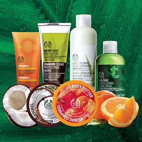 The Body Shop and Sephora