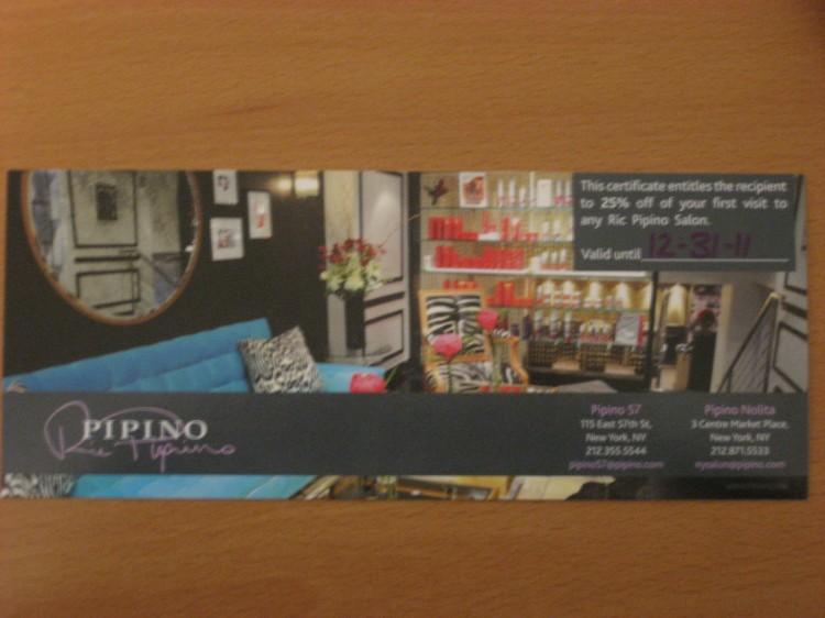 Ric Pipino Salon Giveaway