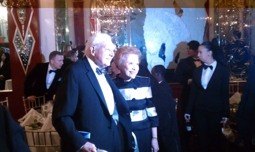 Lee and Marvin Traub at the 2012 Martha Graham Dance Company Gala at The Russian Tea Room