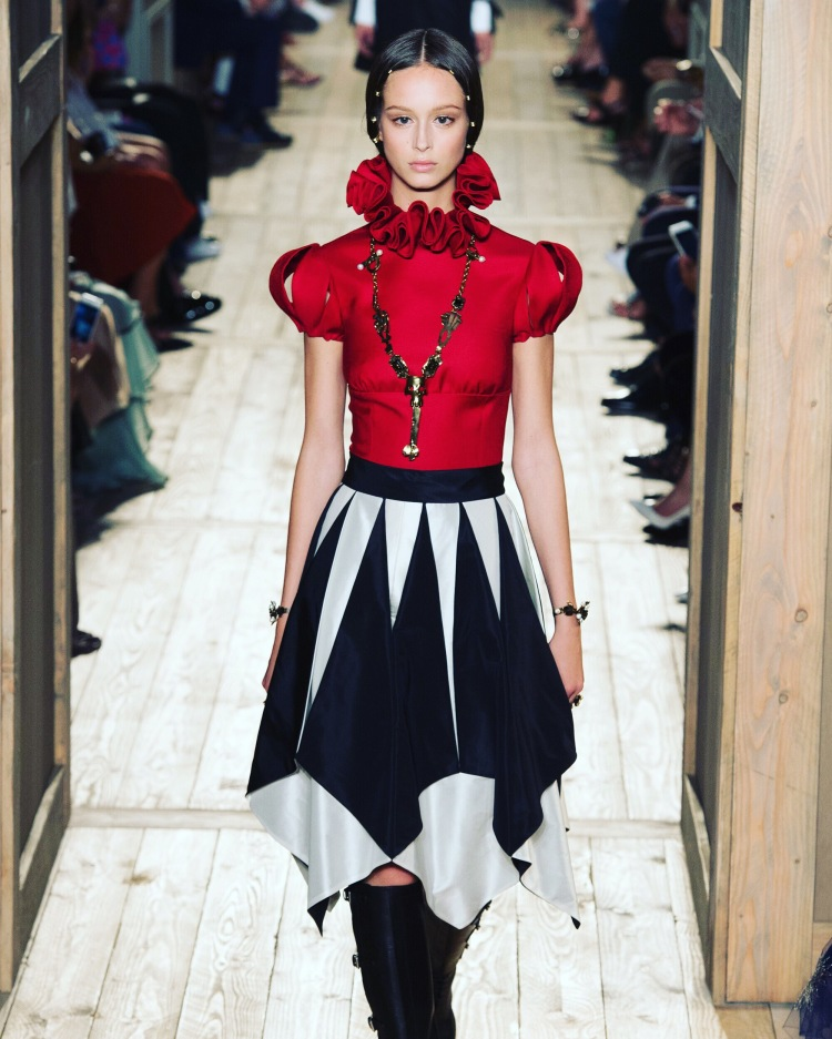 If Harley Quinn wore Haute Couture Valentino Fall 2016